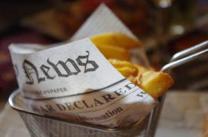 Dutch food: frites